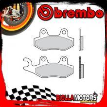 07076 PASTIGLIE FRENO POSTERIORE BREMBO PEUGEOT GEO RS 2008- 125CC [ORGANIC]