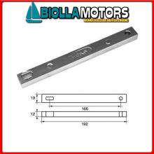 5123319 ANODO MOTORE MERCURY Barra 30/40 (2 Cil) - 40/50 (4T)