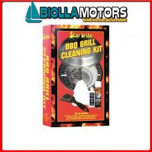 5732916 SB BBQ CLEANING KIT< Kit Pulizia Grill Barbeque