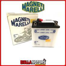 6N6-3B BATTERIA MAGNETI MARELLI 6N6-3B SENZA ACIDO 6N63B MOTO SCOOTER QUAD CROSS