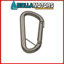 0212580 MOSCHETTONE D8 INOX Moschettone di Sicurezza Standard