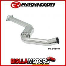 57.0023.00 SCARICO Evo Alfa Romeo 156 GTA 3.2 I V6 (184kW) Berlina + Sportwagon 2002> Centrale inox