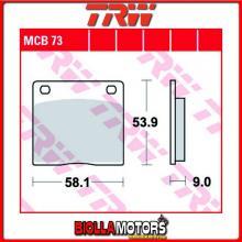 MCB73 PASTIGLIE FRENO POSTERIORE TRW Kawasaki Z 500 1979-1980 [ORGANICA- ]