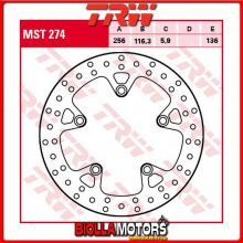 MST274 DISCO FRENO POSTERIORE TRW Honda CB 1100 EX,ABS 2013-2014 [RIGIDO - ]