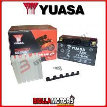 E01134K BATTERIA YUASA YT7B-BS SIGILLATA CON ACIDO YT7BBS MOTO SCOOTER QUAD CROSS