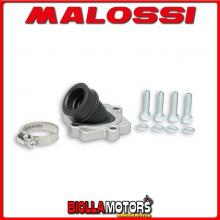 2014524 KIT COLLETTORE ASPIRAZIONE MALOSSI X360 RACING D. 22 - 24,5 ITALJET DRAGSTER 50 2T LC INCLINATO E LUNGHEZZA 33 IN FKM -