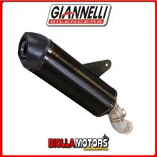 73823B2Y+71213IN TERMINALE GIANNELLI MAXIOVAL HONDA CRF 1000 L Africa Twin 2016 DARK/CARBONIO + COLLETTORE RACING