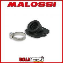 029732B COLLETTORE ASPIRAZIONE MALOSSI D. 21 - 24,5 ITALJET JET SET 50 2T LUNGHEZZA 26,5 INCLINATO IN FKM -