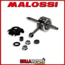 5316005 ALBERO MOTORE MALOSSI MHR GILERA RUNNER 50 2T LC BIELLA 85 - SP. D. 12-13 CORSA 39,3 MM -
