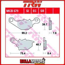 MCB679SI PASTIGLIE FRENO ANTERIORE TRW Kawasaki KLX 125 B 2003-2006 [SINTERIZZATA- SI]
