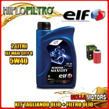 KIT TAGLIANDO 2LT OLIO ELF MAXI CITY 5W40 KTM 125 Duke 125CC 2011-2016 + FILTRO OLIO HF155