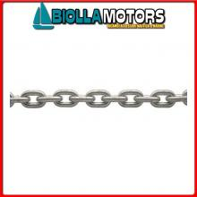 011501250 CATENA INOX 12*50MT Catena Calibrata in Acciaio Inox