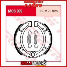 MCS955 GANASCE FRENO POSTERIORE TRW Suzuki DR 500 S 1989- [ORGANICA- ]