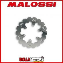 6212349 DISCO FRENO MALOSSI POSTERIORE MALAGUTI MADISON 180 4T LC (PIAGGIO) ESTERNO 220 SPESSORE 4MM