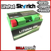 HJTZ14S-FP BATTERIA LITIO SKYRICH YTZ14S-BS LiFePo4 - YTZ14SBS MOTO SCOOTER QUAD CROSS