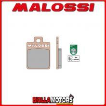 6215006BS COPPIA PASTIGLIE FRENO MALOSSI Posteriori GILERA RUNNER FX 125 2T LC MHR SYNT Posteriori - per veicoli PRODOTTI 2000 -