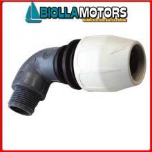 1440345 RAC GOMITO PORTAGOMMA M DBFAST 3/4X20 Raccordo Rapido 90° BD Fast Compact