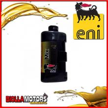 E140191 1 LITRO OLIO ENI MIX 2T MINERALE
