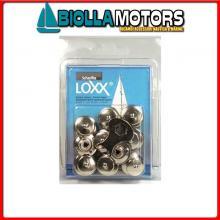 3214285 CONFEZIONE BOTTONI LOXX/TENAX 10PZ 8 Bottoni Loxx - Tenax in Blister