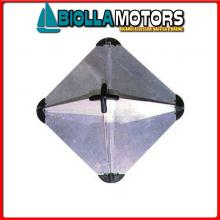 3025032 RIFLETTORE RADAR CUBE ALU M< Riflettore Radar Cube