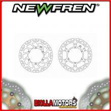 DF5107AF DISCO FRENO ANTERIORE NEWFREN KTM LC8 950cc SUPER ENDURO 2006-2008 FLOTTANTE
