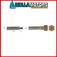 5127550 ANODO BARROTTO Barrotti Motore Caterpillar (10x38mm)