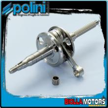 210.0048 ALBERO MOTORE POLINI MOTRON SYNCRO BIELLA 80 - SP.10 Per variatore originale o con spinotto variatore da d.13mm.