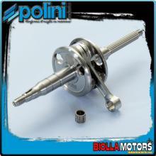 210.0048 ALBERO MOTORE POLINI E-TON VIPER 50 RXL BIELLA 80 - SP.10 Per variatore originale o con spinotto variatore da d.13mm.