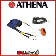 GK-GP1EVO-0040 CENTRALINA GP1EVO ECU ATHENA HONDA CRF 250 R 2013- 250CC + GPA2, 2nd Injector ready