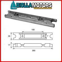 5126115 ANODO MOTORE YAMAHA Barra 25Q-40/50/60/70/75/80/85/90-F80/100