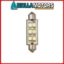 2161600 LAMPADINA SILURO LED 12V L42< Lampadina Siluro Power LED Cover