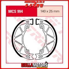 MCS994 GANASCE FRENO POSTERIORE TRW Aprilia SR 50 Motard 2012- [ORGANICA- ]