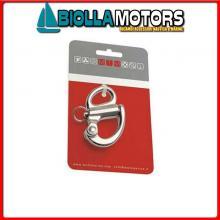 0222560C MOSCHETTONE SPI D12 INOX CARD Moschettone Spi Occhio Fisso MTM