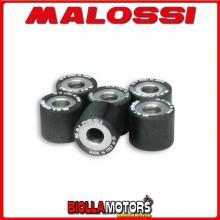 6613968.B0 6 RULLI RULLI VARIATORE MALOSSI D. 25X22,2 GR. 24 PGO BUG RACER 500 4T LC (PIAGGIO) - -