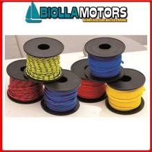 3106232 BOBINA TRECCIA RED 2MM 30MT Bobinette Fullcolor