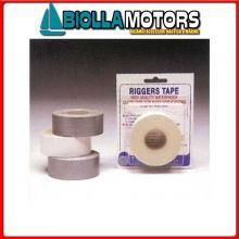 5720315 NASTRO ADESIVO RIGGERTAPE 10M WHITE Nastro Protettivo Riggers Tape