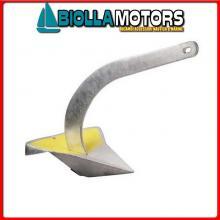 0109255 ANCORA SPADE X200 INOX 55KG< Ancora Spade in Acciaio Inox