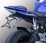8909997 PORTATARGA MOTO REGOLABILE IN ACCIAIO YAMAHA YZF-R6 600 cc. 2008