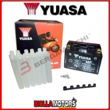 E01070 BATTERIA YUASA YTZ12S-BS SIGILLATA CON ACIDO YTZ12SBS MOTO SCOOTER QUAD CROSS