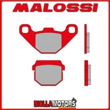 6215059BR COPPIA PASTIGLIE FRENO MALOSSI Anteriori AEON MOTOR COBRA S 272 4T LC (V55C) MHR Anteriori