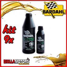 KIT 9X LITRO OLIO BARDAHL BRAKE FLUID RACING DOT 5.1 ABS SINTETICO PER IMPIANTI FRENANTI 250GR - 9x 721019