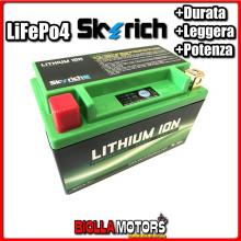 HJTX7A-FP BATTERIA LITIO SKYRICH YTX7A-BS LiFePo4 612079 YTX7ABS MOTO SCOOTER QUAD CROSS