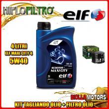 KIT TAGLIANDO 4LT OLIO ELF MAXI CITY 5W40 HUSQVARNA 900 Nuda 900CC 2011-2014 + FILTRO OLIO HF160