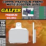 FD220G1651 PASTIGLIE FRENO GALFER PREMIUM POSTERIORI MALAGUTI MADISON 3 250 i.e. 07-