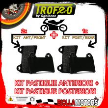 OEPADS-1301 KIT PASTIGLIE FRENO OE INDIAN SCOUT SIXTY 1000 2017- [ANTERIORE+POSTERIORE] [ORGANICA]