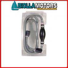 4037540 POMPETTA TUBO MERCURY GREY 2.1M C34635 Linea Carburante Grey Fuel Line M