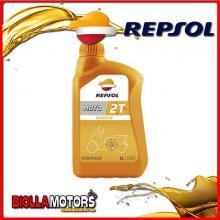 REPSOL27 1 LITRO OLIO REPSOL MOTO SCOOTER 2T 1LT