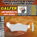 FD138G1396 PASTIGLIE FRENO GALFER SINTERIZZATE ANTERIORI MALAGUTI MADISON 200 04-