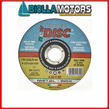 5790220 DISCO DA TAGLIO INOX D115 Dischi Abrasivi Rigidi