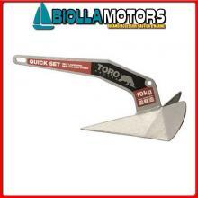 0108810 ANCORA BULL STS 316 10KG< Ancora Toro Inox